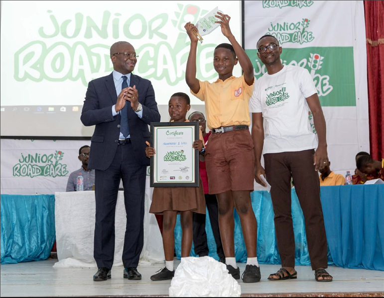 Vivo Energy Leads Road Safety Education in Basic schools