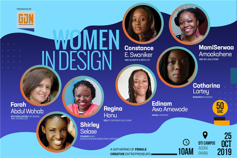 Ghana Design Network Presents: Women In Design- Friday, 25th October 2019