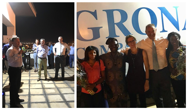 GNBCC Cocktail Hosted by Agrona & Comexas in Tema and Dutch Entrepreneur Day Award Ceremony
