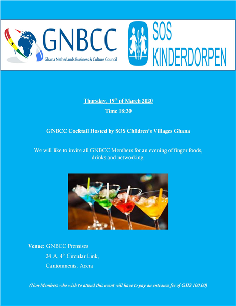 GNBCC Cocktial Hosted By SOS Children's Villages
