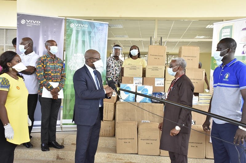 Vivo Energy Donates to the National COVID Case Management Team