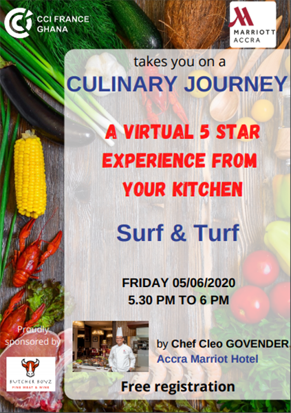 A Virtual 5 Star Experience From YOUR Kitchen #3 - 05/06/2020