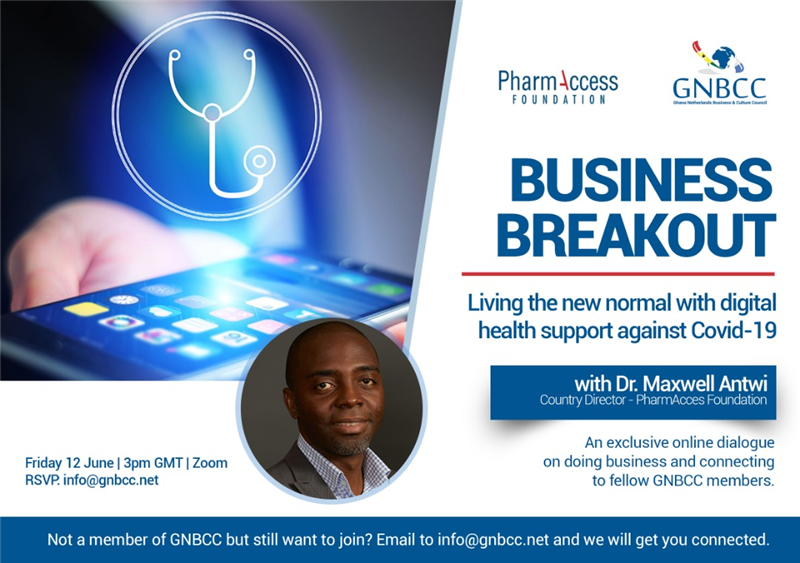 "GNBCC Business Breakout: ""Living the New Normal with Digital Health Support Against Covid-19"""