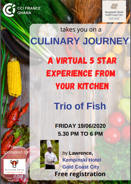 A Virtual 5 Star Experience From Your Kitchen #5- 19/06/2020