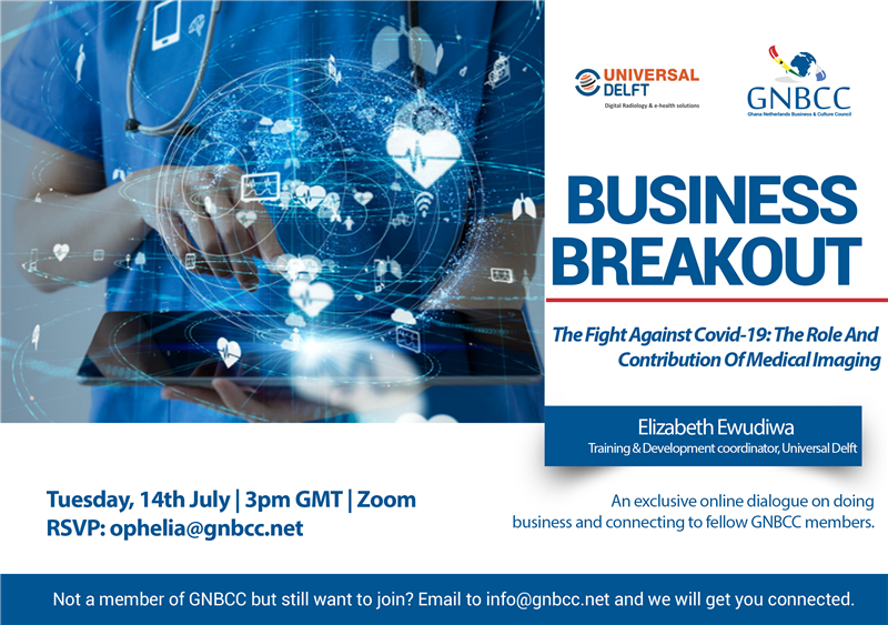 GNBCC Business Breakout: The Fight Against Covid-19; The Role And Contribution Of Medical Imaging