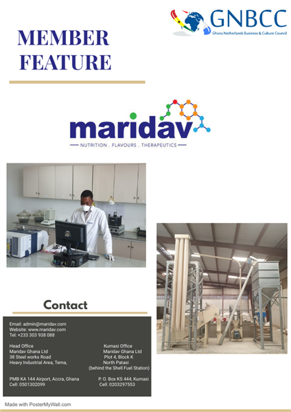 Member Feature: Maridav Ghana Limited